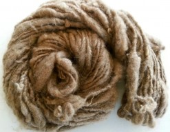 natural brown finnsheep yarn