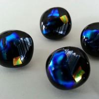 handmade glass buttons