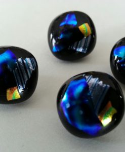 handmade glass buttons