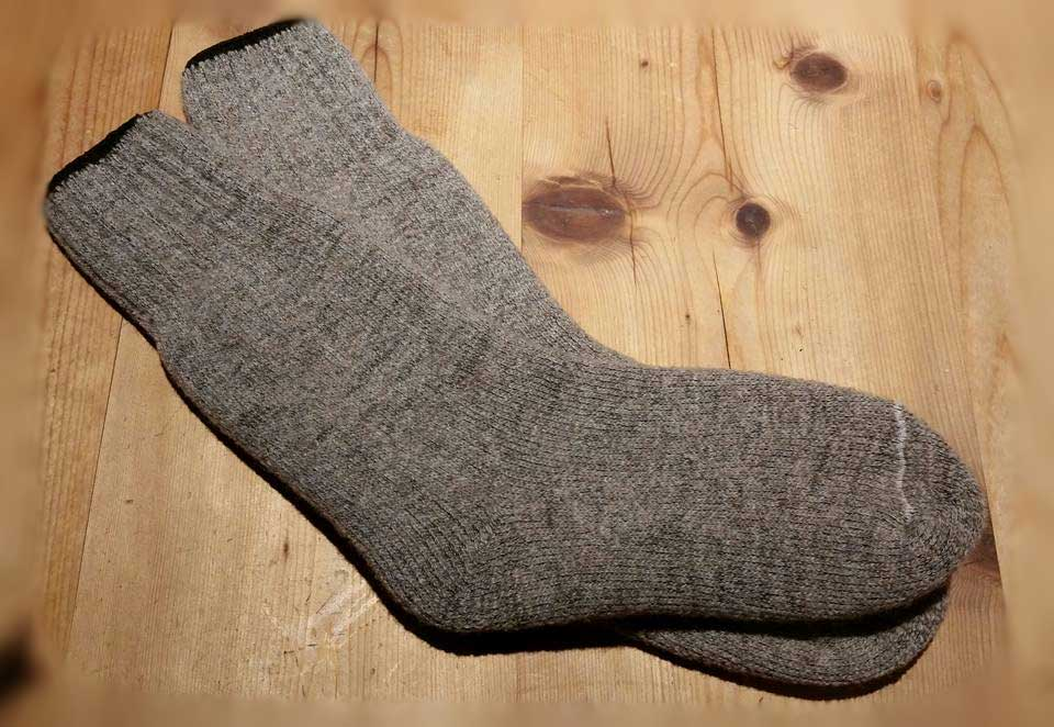 natural wool socks