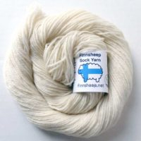 White Finnsheep Yarn