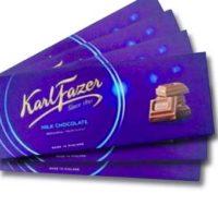 frazer milk chocolate bar
