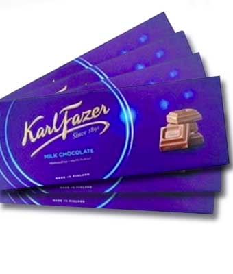 frazer milk chocolate bar