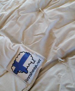 Natural wool filled comforter at finnsheep.net