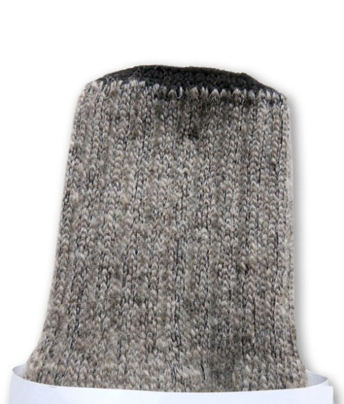 detail of Finnsheep wool socks