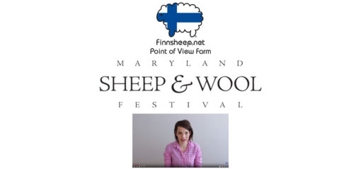 Finnsheep.net logo, Maryland Sheep and Wool Logo, Kristy Glass Knits video preview