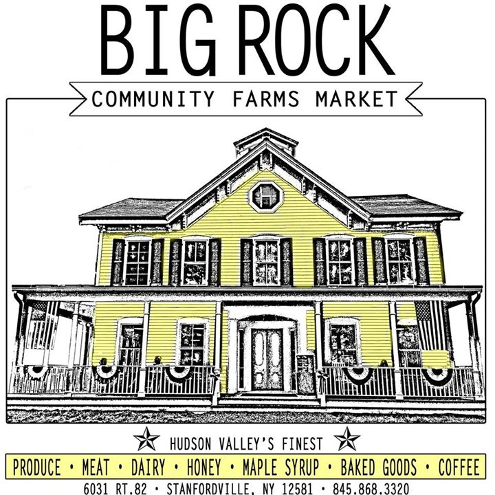 Big Rock community farms logo