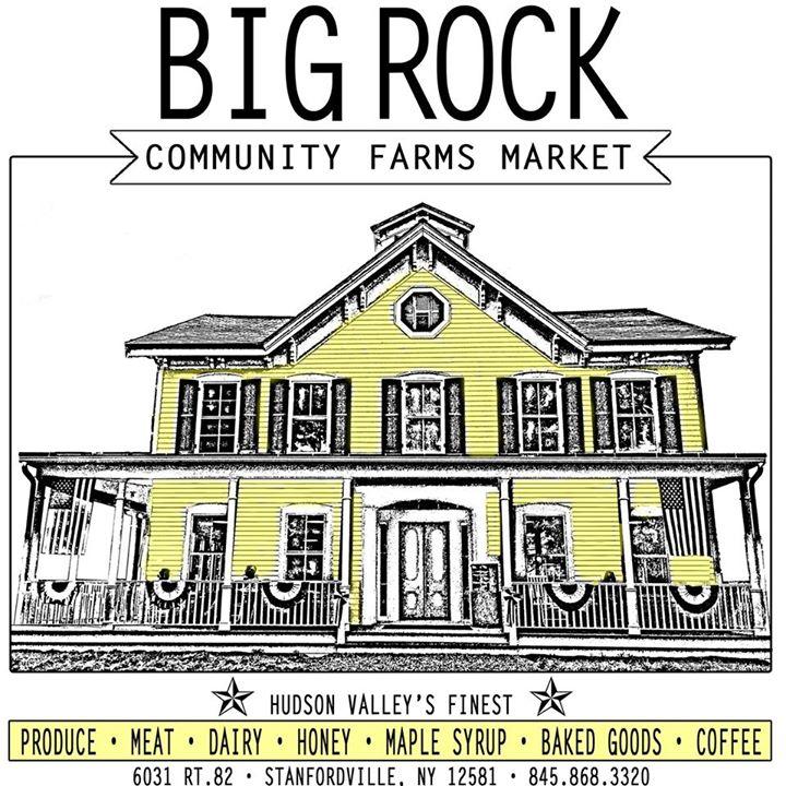 Big Rock community farms logo