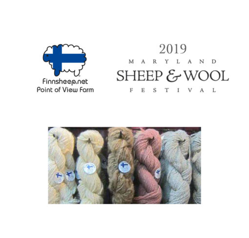 2019 Maryland Sheep and Wool Festival Finnsheep picture